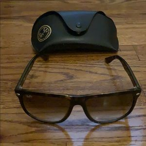 Rayban RB4147 in tortoise with brown lenses